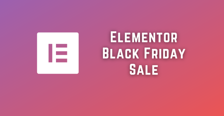 Elementor Black Friday Sale 2021: Up To 25% OFF